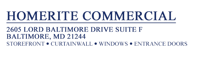 Commercial Window Replacement Projects In Maryland By